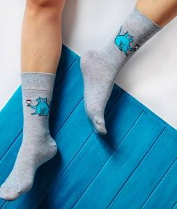 #2-skarpety-soberay-monk-strange-animals-cat-melange-urbanstaffshop-streetwear