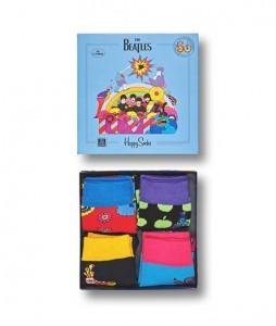 #15-skarpety-skarpetki-dzieciece-zestaw-happy-socks-x-the-beatles-kids-gift-box-4-pak-(XKBEA09-6500)-urbanstaff-casual-streetwear-1