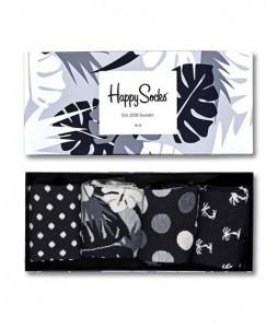 #37-skarpety-skarpetki-zestaw-happy-socks-seasonal-black-white-gift-box-4-pak-(XBLW09-9002)-urbanstaff-casual-streetwear-1