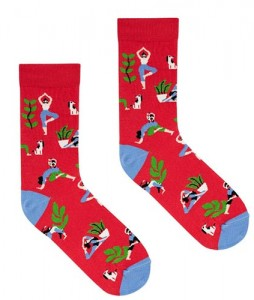 165#-skarpety-skarpetki-kabak-socks-joga-czerwone-urban-staff-casual-streetwear